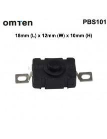OmTen PBS101 Reverse Clicky Switch 18mm(L) x 12mm(W) x 10mm(H) (5 PCS)