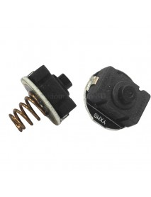 20mm (D) x 23mm (H) PBS-101 Reverse Clicky Switch - Black ( 2pcs )