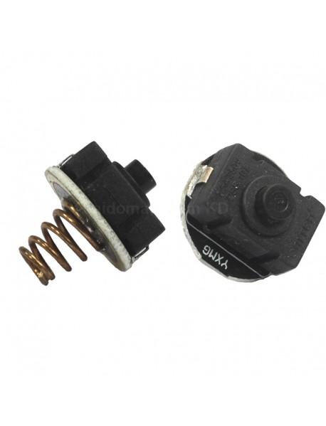 20mm (D) x 23mm (H) PBS-101 Reverse Clicky Switch - Black ( 2pcs )