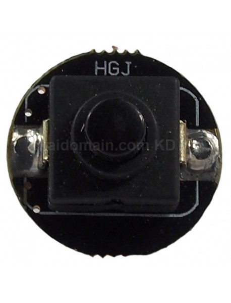 20mm (D) x 21mm (H) Reverse Clicky Switch for LED Flashlights (2 pcs)
