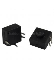 KS-P03 12mm(L) x 12mm(W) x 9mm(H) DIY LED Flashlight Clicky Switch (5 pcs)