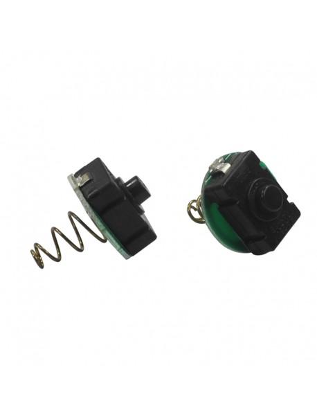 21mm (D) x 26mm (H) Flashlight Reverse Clicky Switch ( 2pcs )