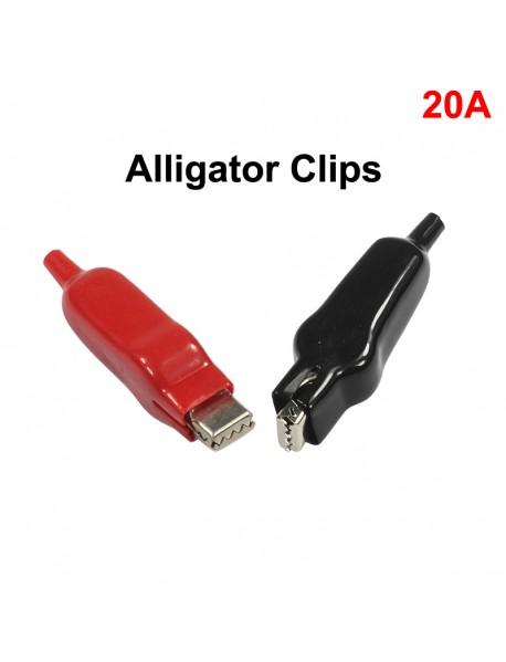 DIY Alligator Clips Test Leads Alligator 20A ( 1 Set )