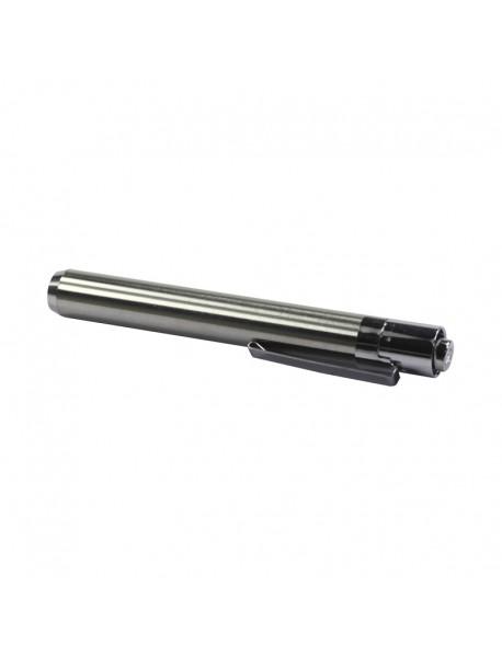 UV1 365nm 1-Mode Stainless Steel UV Flashlight ( 1xAAA )